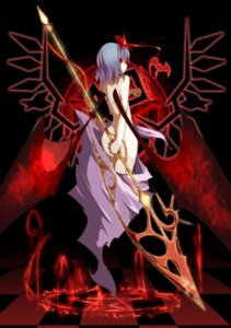 Rating: Questionable Score: 31 Tags: ass devil naked noirly remilia_scarlet touhou wings User: charunetra