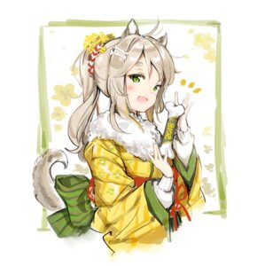 Rating: Safe Score: 63 Tags: animal_ears anmi kimono tail User: Mr_GT