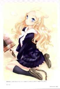 Rating: Safe Score: 21 Tags: animal_ears fixme ingrid nishieda nopan seifuku seiken_no_faeries sword User: admin2