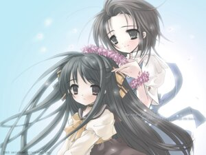 Rating: Safe Score: 9 Tags: ito_noizi komorebi_ni_yureru_tama_no_koe sui unisonshift wallpaper User: cyanoacry