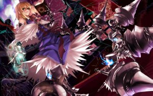 Rating: Safe Score: 21 Tags: alice_margatroid armor john_dee mecha_musume touhou User: Mr_GT