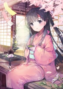 Rating: Safe Score: 73 Tags: bada_(jksh5056) kimono kobayakawa_sae the_idolm@ster the_idolm@ster_cinderella_girls User: Mr_GT