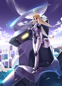 Rating: Safe Score: 16 Tags: bodysuit mecha tensugi_takashi User: Kaixa