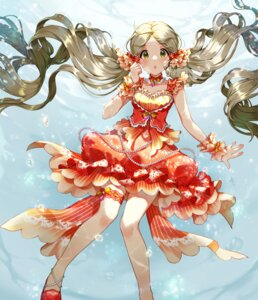 Rating: Safe Score: 16 Tags: dress garter handa_roco pinkiepies2 the_idolm@ster the_idolm@ster_million_live! User: Mr_GT