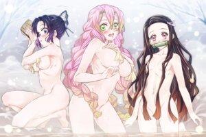 Rating: Questionable Score: 82 Tags: bathing breast_hold kamado_nezuko kanroji_mitsuri kimetsu_no_yaiba kochou_shinobu loli naked niko_(tama) onsen wet User: Mr_GT