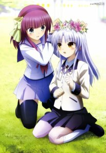 Rating: Safe Score: 75 Tags: angel_beats! seifuku tenshi thighhighs toya_kento yurippe User: Aurelia