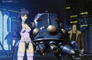 Rating: Safe Score: 15 Tags: batou genma_nobuhiko ghost_in_the_shell kusanagi_motoko mecha nakahara_hisahumi overfiltered tachikoma User: Wraith