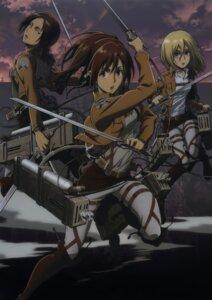 Rating: Safe Score: 18 Tags: christa_lenz sasha_browse shingeki_no_kyojin sword uniform ymir_(shingeki_no_kyojin) User: Radioactive