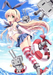Rating: Questionable Score: 73 Tags: kantai_collection pantsu rensouhou-chan sakurano_ruu shimakaze_(kancolle) thighhighs thong User: 椎名深夏