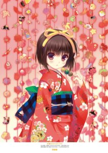 Rating: Safe Score: 41 Tags: digital_version kimono santa_matsuri User: Twinsenzw
