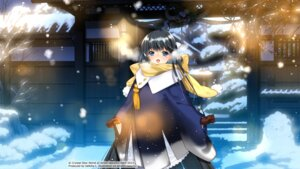 Rating: Safe Score: 16 Tags: kimono kirino_kasumu landscape suishou_shizuku User: hirotn