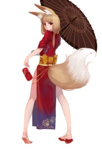 Rating: Safe Score: 36 Tags: animal_ears kitsune sola7764 tail User: Radioactive