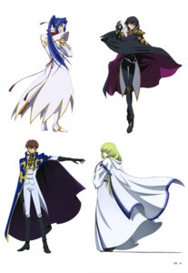 Rating: Safe Score: 8 Tags: akito_the_exiled c.c. code_geass eyepatch kururugi_suzaku lelouch_lamperouge shin_hyuuga_shaingu uniform User: drop