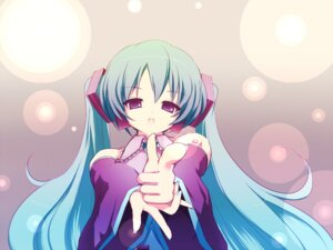 Rating: Safe Score: 23 Tags: hatsune_miku takunama vocaloid wallpaper User: yumichi-sama