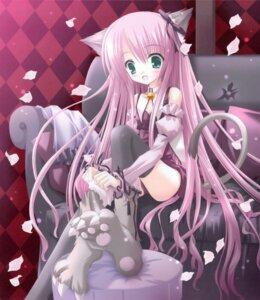 Rating: Safe Score: 33 Tags: animal_ears duel_dolls nekomimi tail tinkle User: syaoran-kun