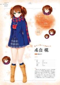 Rating: Safe Score: 3 Tags: expression gin'iro_haruka koizumi_amane nashiro_momiji seifuku tone_work's User: Twinsenzw