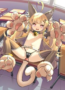 Rating: Explicit Score: 40 Tags: anal animal_ears azur_lane cameltoe eldridge_(azur_lane) loli nekomimi nipples no_bra open_shirt pantsu patricia pussy_juice tail thighhighs wet User: yanis