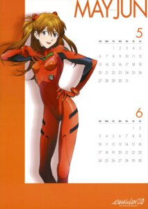 Rating: Safe Score: 18 Tags: bodysuit calendar neon_genesis_evangelion souryuu_asuka_langley User: vkun
