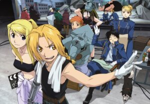 Rating: Safe Score: 34 Tags: alphonse_elric armor bikini_top black_hayate edward_elric envy fullmetal_alchemist gluttony jean_havoc kain_fuery lust megane riza_hawkeye roy_mustang uniform winry_rockbell User: Lua