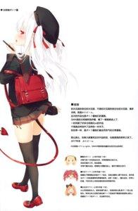 Rating: Questionable Score: 19 Tags: heels luminocity peco seifuku shimotsuki_potofu skirt_lift tail thighhighs User: Radioactive