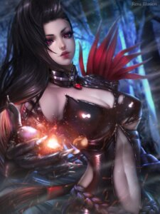 Rating: Safe Score: 72 Tags: blade_&_soul cleavage no_bra ran_yu rena_illusion signed torn_clothes underboob User: charunetra