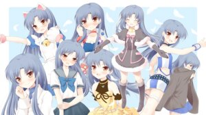 Rating: Safe Score: 20 Tags: animal_ears kisaragi_chihaya komi_zumiko nekomimi seifuku the_idolm@ster User: Ice