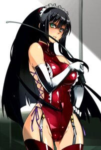 Rating: Questionable Score: 52 Tags: bodysuit kore_wa_zombie_desu_ka seraphim stockings tagme thighhighs User: back07