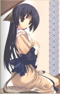 Rating: Safe Score: 9 Tags: amaduyu_tatsuki animal_ears screening tail utawarerumono yuzuha User: Riven