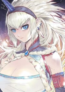 Rating: Safe Score: 4 Tags: cleavage horns monster_hunter tagme User: Radioactive