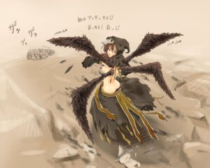 Rating: Questionable Score: 12 Tags: atiqe fantasy_earth_zero no_bra wallpaper wings User: fairyren