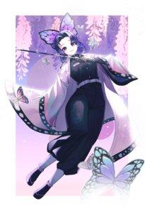 Rating: Safe Score: 14 Tags: cello0702 japanese_clothes kimetsu_no_yaiba kochou_shinobu sword uniform User: charunetra