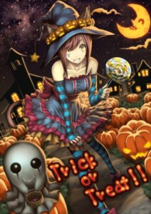Rating: Safe Score: 34 Tags: animal_ears dress halloween izumi_sai tail thighhighs witch User: blacktarprophecy