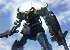 Rating: Safe Score: 13 Tags: gouf_custom gun gundam itou_(onnsokutassha) mecha sword the_08th_ms_team weapon User: Radioactive