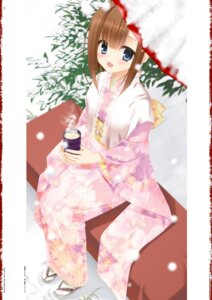 Rating: Safe Score: 44 Tags: digital_version hidan_no_aria kimono kobuichi tooyama_kaname User: Twinsenzw