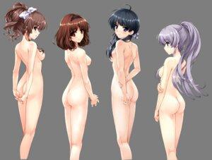 Rating: Questionable Score: 198 Tags: ass furukawa_yui hanamiya_nagisa hasekura_airi kuroya_shinobu misaki_kurehito naked nipples sasaki_kaori transparent_png trumple ushinawareta_mirai_wo_motomete User: YAMADA_Shinichirou