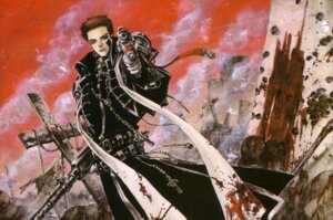 Rating: Safe Score: 4 Tags: blood gun male thores_shibamoto tres_iqus trinity_blood User: Radioactive