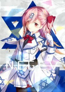 Rating: Safe Score: 32 Tags: blood chuenbai girls_frontline negev_(girls_frontline) pantyhose uniform User: animeprincess