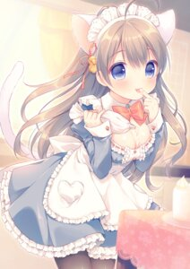 Rating: Safe Score: 72 Tags: cleavage cream maid mani moe2015 pantyhose User: blooregardo