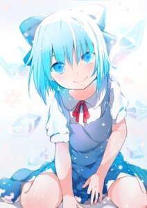 Rating: Safe Score: 42 Tags: cirno dress touhou yamada_ranga User: KazukiNanako