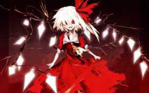 Rating: Safe Score: 41 Tags: banpai_akira dress flandre_scarlet touhou wallpaper wings User: charunetra
