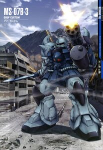 Rating: Safe Score: 10 Tags: gouf_custom gun gundam mecha the_08th_ms_team washikita_kyouta User: Radioactive