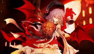 Rating: Safe Score: 35 Tags: remilia_scarlet touhou wings yoshioka_yoshiko User: Nepcoheart