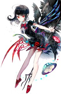 Rating: Safe Score: 28 Tags: dress houjuu_nue irineiji pointy_ears touhou weapon wings User: Mr_GT