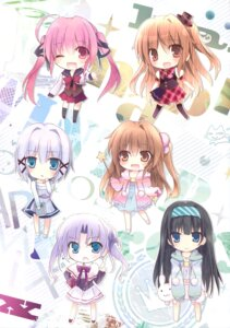 Rating: Safe Score: 46 Tags: aomi_maika chibi dress karomix karory seifuku thighhighs tokino_kumo User: Twinsenzw