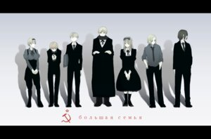 Rating: Safe Score: 4 Tags: belarus estonia hetalia_axis_powers jastjast latvia lithuania russia ukraine User: lunalunasan