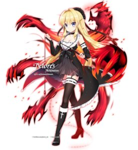 Rating: Questionable Score: 13 Tags: cleavage gothic_lolita heels lolita_fashion m.vv stockings thighhighs weapon User: Dreista