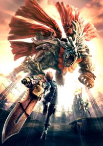 Rating: Safe Score: 19 Tags: god_eater itakura_koichi monster sword User: Radioactive