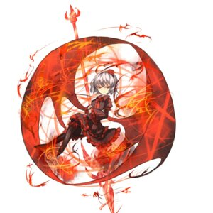 Rating: Safe Score: 18 Tags: remilia_scarlet shirogane_usagi touhou wings User: charunetra