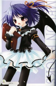 Rating: Safe Score: 9 Tags: devil sakurazawa_izumi tail thighhighs wings User: admin2