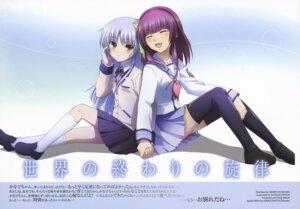 Rating: Safe Score: 28 Tags: angel_beats! hayakawa_asami seifuku tenshi thighhighs yurippe User: Radioactive